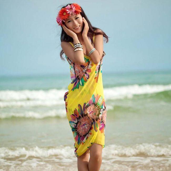 Plażowa sukienka Yolanda 1