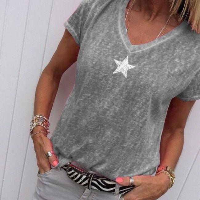 Női rövid ujjú trikó Cibil