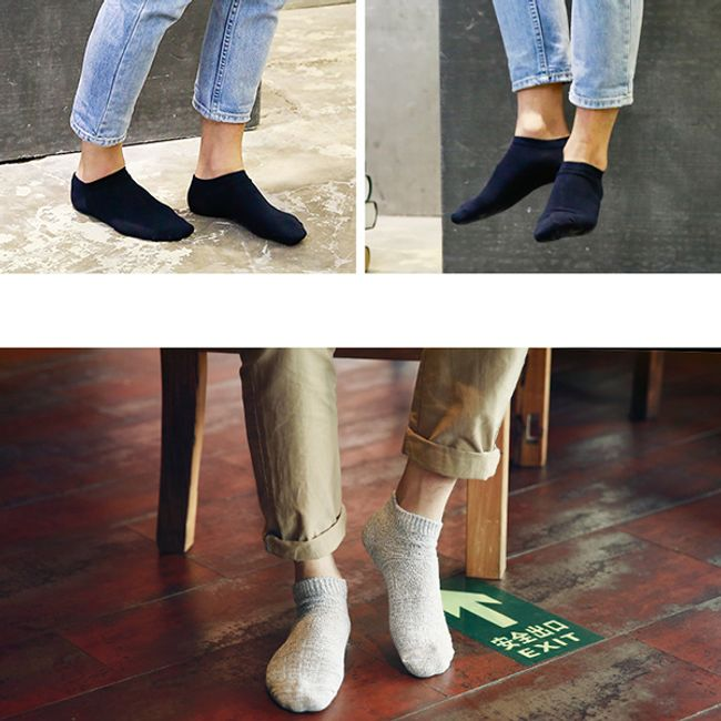 Férfi pamut zokni csomagolása