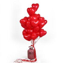 Balony serce Izabela