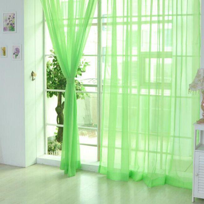 Stilske zavese - 7 boja 1
