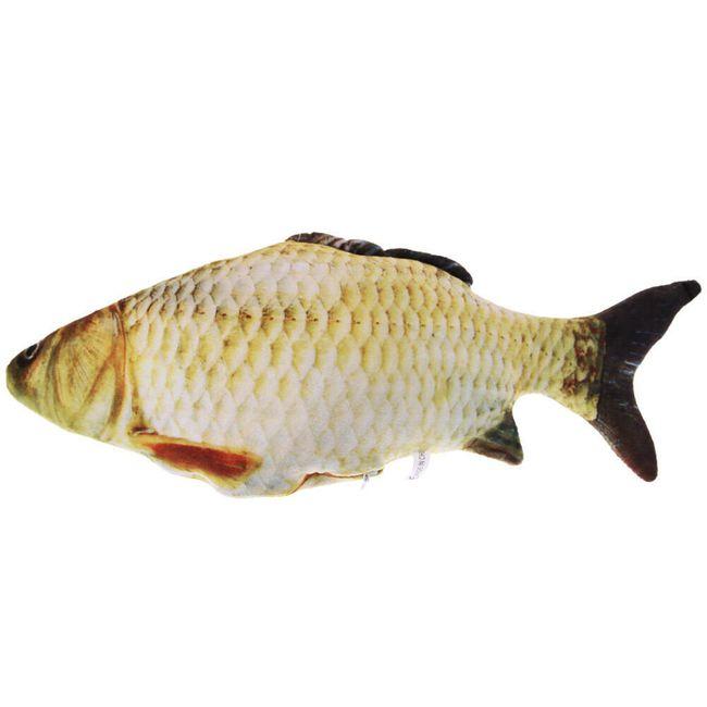 Vycpaná hračka pro domácí mazlíčky v podobě ryby 1