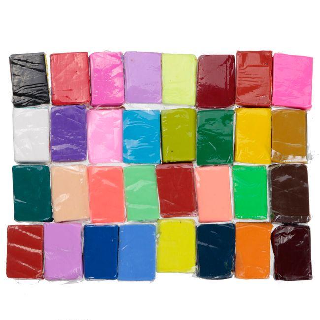 32 штуки материала для лепки - большой набор 1