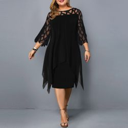 Дамска рокля в плюсови размери TF8490