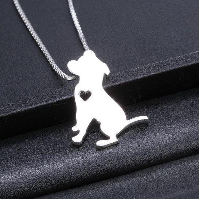 Ogrlica z motivi različnih pasem psov -  Jack Russell terijer 1