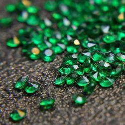 4,5 mm akrylový čirý diamant - 2000 kusů