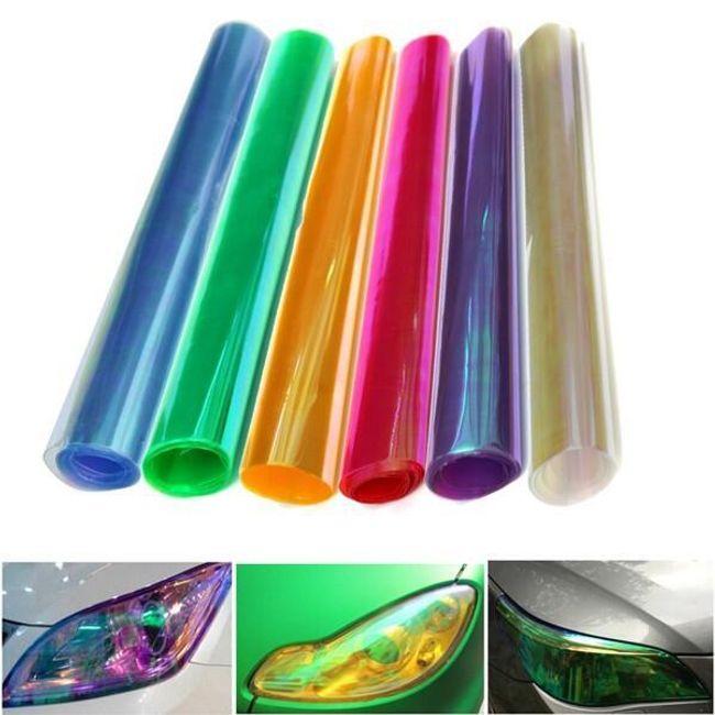 Фольга для фар - несколько цветов - 30 х 60 см 1