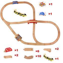 Vasúti pálya kiegészítőkkel BVN2