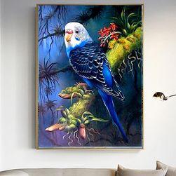 5D slika sa kamenčićima - Australijska tigrica (papagaj)