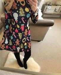 Рождественское платье - 2 цвета 0212-размер 4