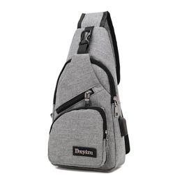 Płócienny plecak na jedno ramię - 4 kolory