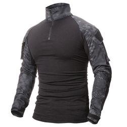 Tricou în design militar pentru bărbați - 6 variante