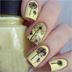 Наклейки на ногти- Одуванчики