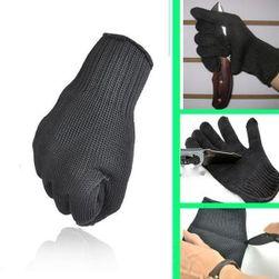 Kevlarowe rękawiczki ochronne - kolor czarny