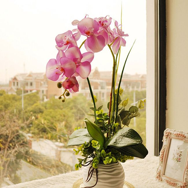 Искусственная орхидея 1