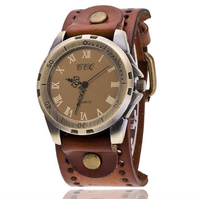 Pánské vintage hodinky s římskými číslicemi - různé barvy 1