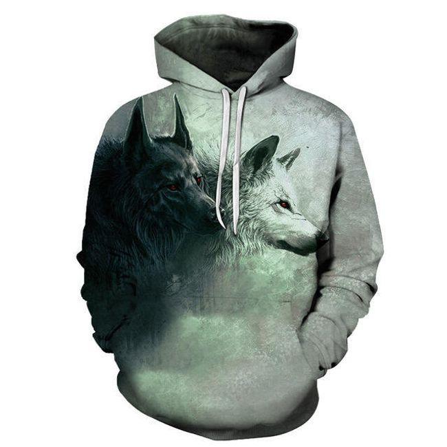 Pánská mikina s vlky - velikost č. 8 1