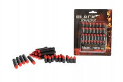 Náhradní pěnové náboje do pistole 30ks na kartě 14x18x4cm Black Series RM_00541241