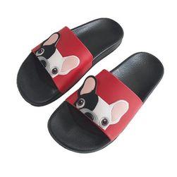 Papuci de damă cu buldogi
