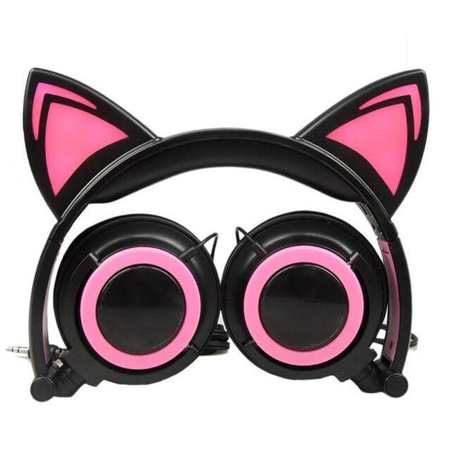 Slušalice sa mačijim ušima Kitty 1