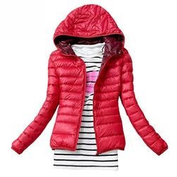 Ženska jakna  rdeča-velikost 1