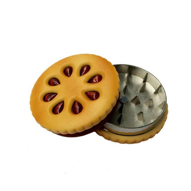 Drtička tabáku a bylin v designu sušenky 1