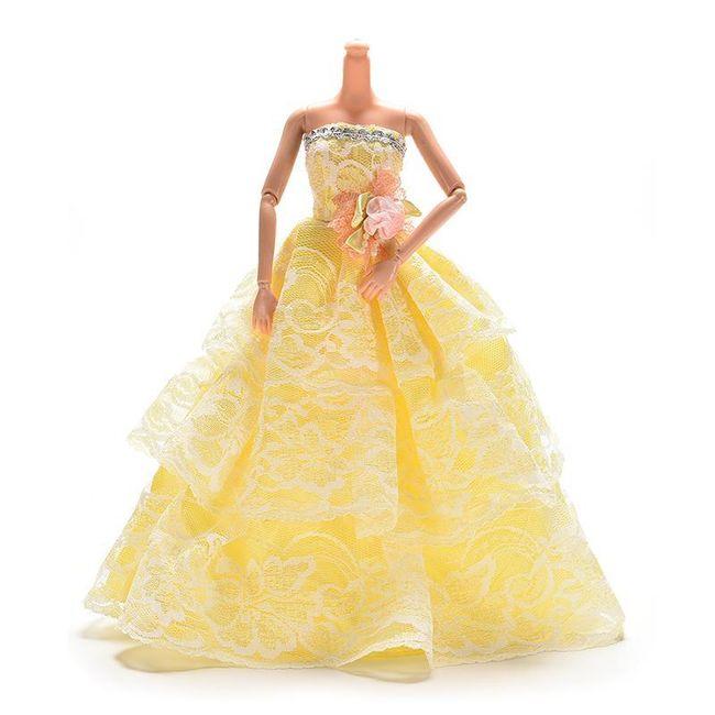 Šaty pro panenku W47 1
