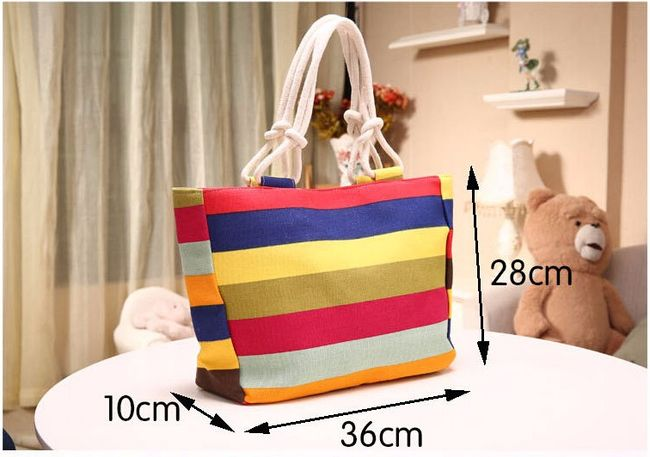 Vászon táska cipzárral különböző minták | ShipGratis.hu