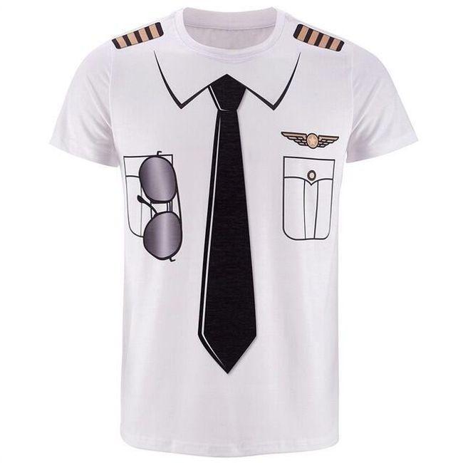 Pánské triko s krátkým rukávem Sebastian 1