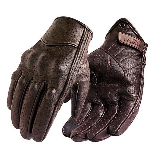 Pánské kožené rukavice Elmer - 2 varianty 1