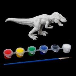 DIY model dinoszaurusz - kifestő - 6 változat