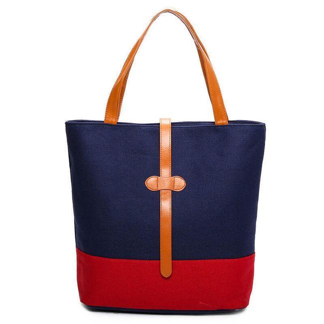 Plátěná kabelka do ruky - různé barvy 1
