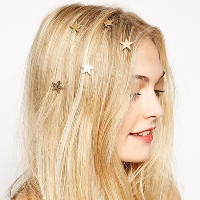 Okras za lase - zvezda 1