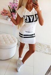 Dámské šaty - bílé LT_IMD21231-2