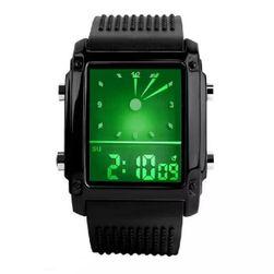 LED часовник със силиконова каишка