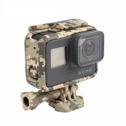 Ochranné pouzdro pro sportovní kameru GoPro Hero 5 - vojenský motiv