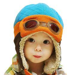 Dziecięca czapka pilotka - 4 kolory