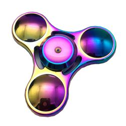 Fidget spinner - zabawka antystresowa - kolor tęczowy
