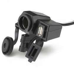 Vodotěsná 12V a USB zásuvka v jednom - univerzální použití