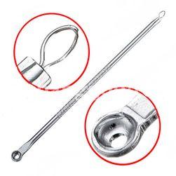 Pałeczka do usuwania trądziku - kolor srebra