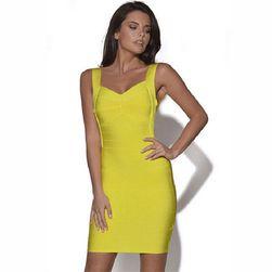 Mini šaty s odhalenými zády - různé barvy