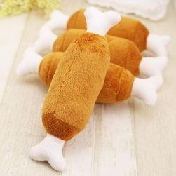 Мягкая игрушка для собак в форме куриной косточки