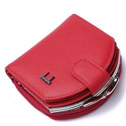 Ženska denarnica v usnjenem dizajnu
