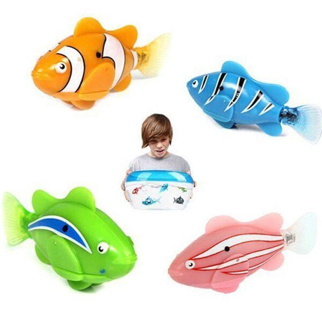 Robo-rybka w 4 kolorach 1