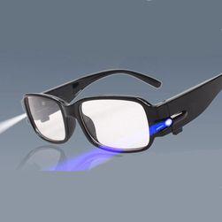 Okulary do czytania z diodami LED