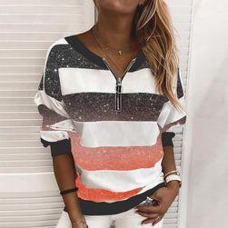 T-shirt damski z długim rękawem MO558
