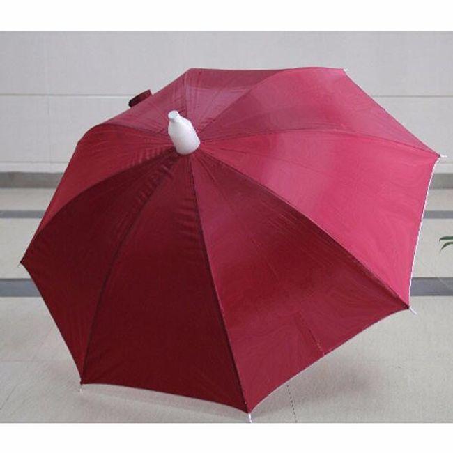 Длинный элегантный зонт- разные расцветки  1
