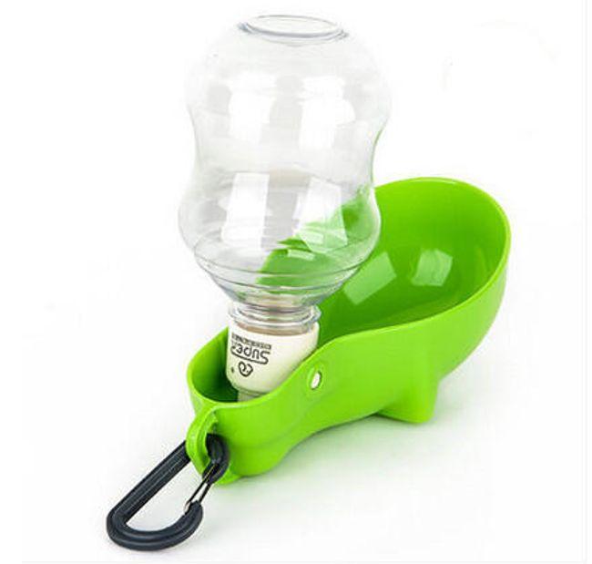 Přenosná miska s lahvičkou na vodu pro pejsky 1