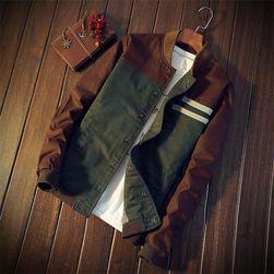 Pánská hnědozelená bunda