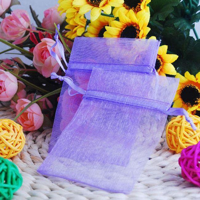 Set vijoličnih vrečk - 100 kosov 1